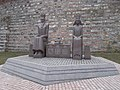 Monument of Jogaila and Jadwiga, in Europe park, Budapest.JPG