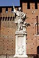 Monument to John of Nepomuk - Castello Sforzesco - Milan 2014.jpg