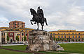 Monumento a Skanderbeg, Tirana, Albania, 2014-04-17, DD 04.JPG