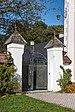 Moosburg Windischbach 1 Schloss Wurmhof Gartentor 02102018 4847.jpg