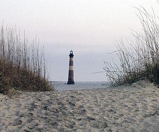 Morris Island island in the United States of America