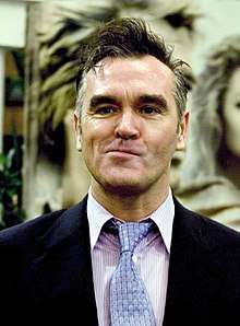 Morrissey at the premiere of the Alexander film in Dublin Ireland.