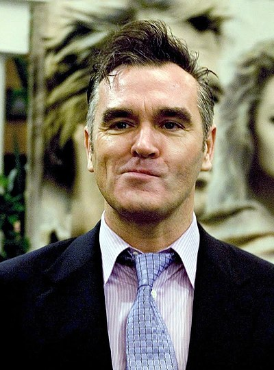 Picture of a band or musician: Morrissey