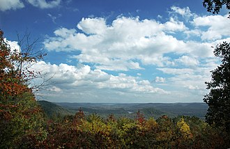 Southeastern mixed forests - Uwharrie Mountains in North Carolina