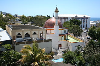 Demographics of Réunion - Moufia Mosque in Saint-Denis