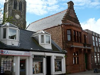 Kilwinning - Mother Lodge building on Main St.