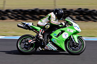 Road racing - Road bike racing around Phillip Island