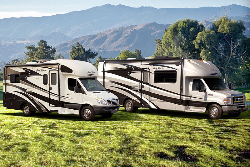 800px Motorhome RV Class C Sprinter Ford Chassis campervan howlingpixel Sprinter Alarm at readyjetset.co