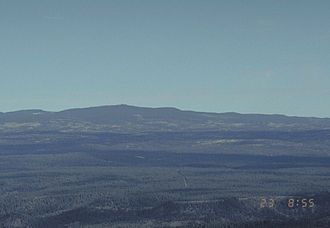Mount Baldy (Arizona) - Mount Baldy from a US Forest Service webcam