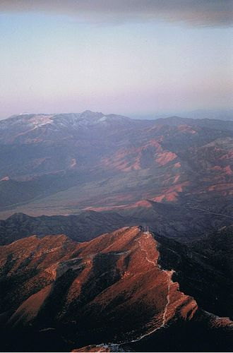 Nevada - Mountains west of Las Vegas in the Mojave Desert