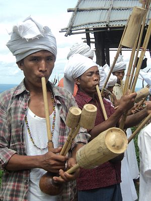 Bangladeshis - Tribal men in the hills of southeastern Bangladesh