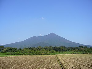 Mount Tsukuba - A view from Chikusei city