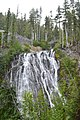 Mt Rainier National Park, WA - Narada Falls with Bridge.jpg