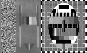 Analog high-definition television system -  HD-MAC test pattern similar to the B-MAC test pattern