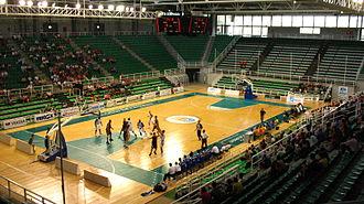 Cáceres Ciudad del Baloncesto - Multiusos Ciudad de Cáceres, home court of the team