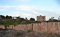 Mur i torre de l'alqueria de l'Aigua Fresca de Sagunt.JPG