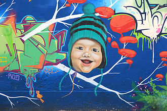 Brazilian hip hop - Graffiti art in Rio de Janeiro