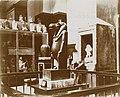 Musée égyptien - Intérieur d'une salle - la déesse Thoueris, elle protègea Isis enceinte d'Horus contre Seth Typhon - Le Caire - Médiathèque de l'architecture et du patrimoine - AP62T163557.jpg
