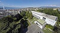 Muséum d'histoire naturelle de Genève - vue aérienne.jpg