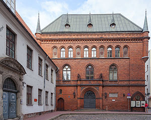 Museum of the History of Riga and Navigation - Exterior.