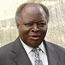 Mwai Kibaki at 8th EAC summit, November 2006.jpg