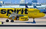 """N534NK Spirit Airlines 2008 Airbus A319-132 (cn 3395) """"Home of the BARE FARE"""" (15107794970).jpg"""
