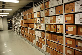 National Archives at College Park - Image: NARA Backstage Pass (2011 08) 07