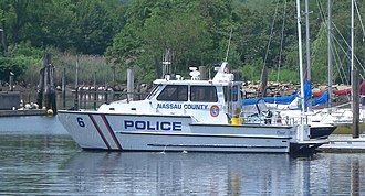Nassau County Police Department - Patrol boat in Port Washington