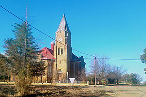 Edenville, Free State - Dutch Reformed Church in Edenville