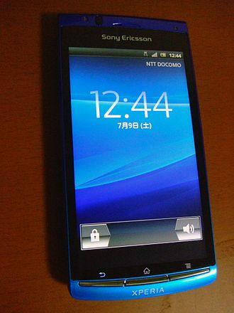 Sony Ericsson Xperia acro - Xperia acro SO-02C(NTT docomo)