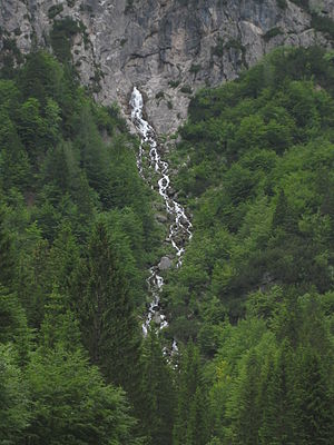 Nadiža (stream) - Nadiža