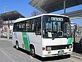 Nagai Bus 3086 at Maebashi Station.jpg