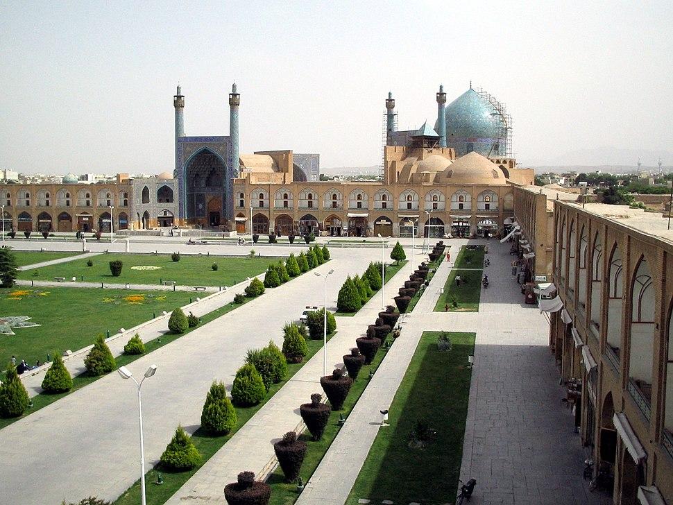 Naghsh-e-jahan masjed-e-shah esfahan