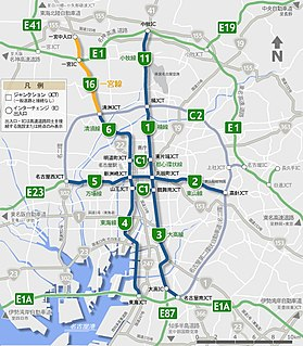 Route 16 (Nagoya Expressway)