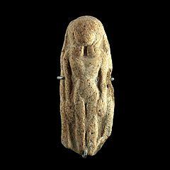 Naked woman Hathor style-AO 13152