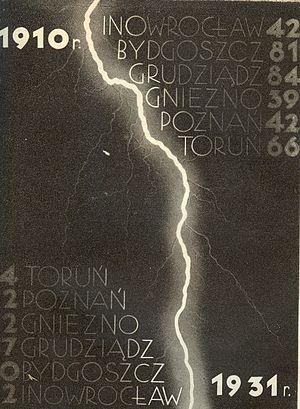 Polish Corridor - Image: Nalot niemczyzny 1910 1931