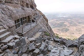 Naneghat - The Naneghat caves.