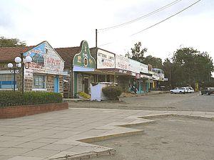 Nanyuki - Nanyuki main street