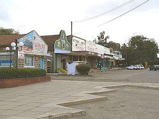 Nanyuki Town in Laikipia County, Kenya