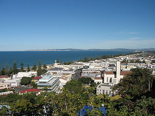 Napier, New Zealand Urban area in Hawkes Bay, New Zealand