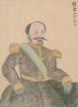 Napoléon III by Japanese doctor Takahashi Yūkei 1862.png