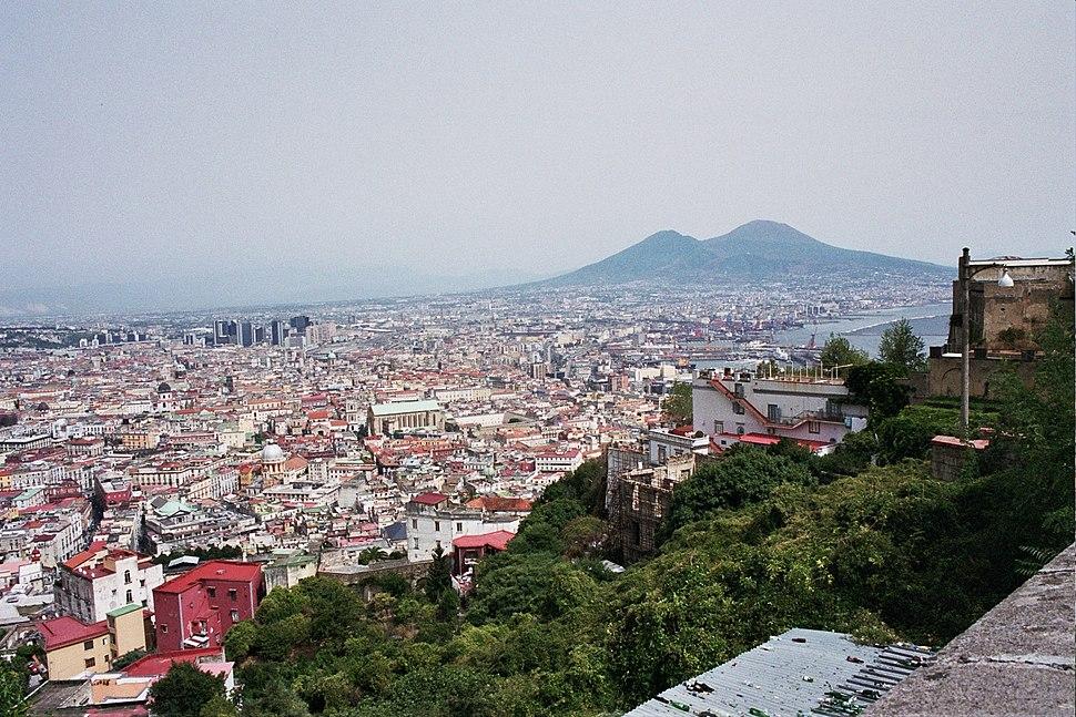 Napoli and Vesuvius