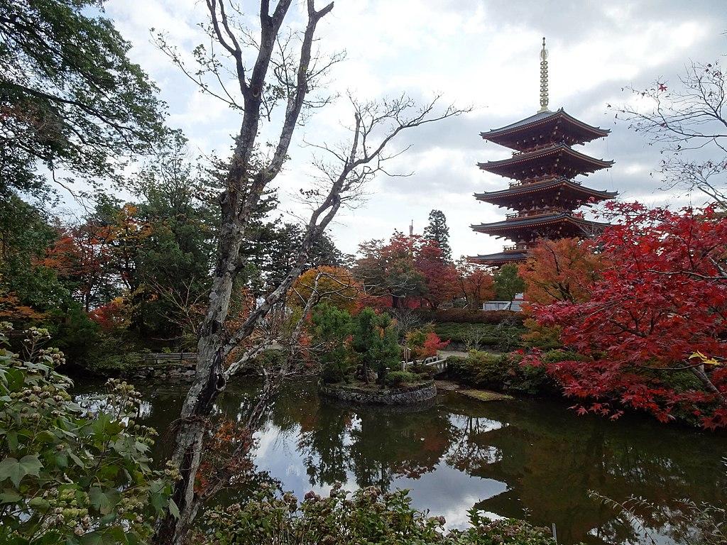 Nariaiji-temple fall pond