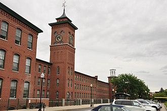Nashua Manufacturing Company Historic District - Image: Nashua NH Clocktower Place