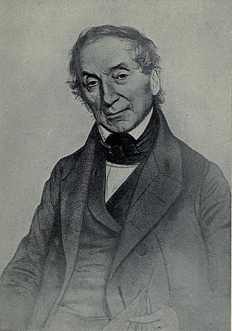 Nathaniel Wallich - From an old lithograph by T. H. Maguire