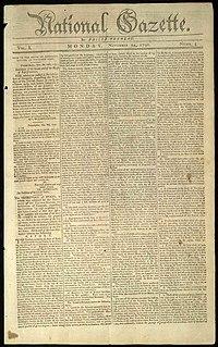 <i>National Gazette</i> newspaper