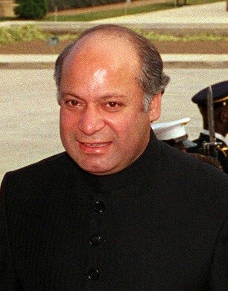 Nawaz Sharif detail, 981203-D-9880W-117