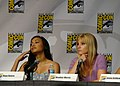 Naya Rivera & Heather Morris (4852880862).jpg