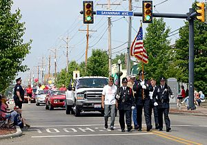 North College Hill, Ohio - Memorial Day parade in North College Hill, Ohio