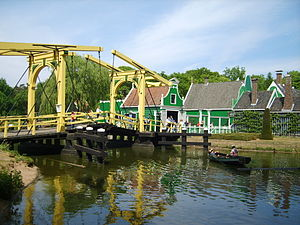 Netherlands Open Air Museum - Houses from the Zaan region